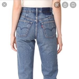 NEW Levi's Altered Straight Jeans
